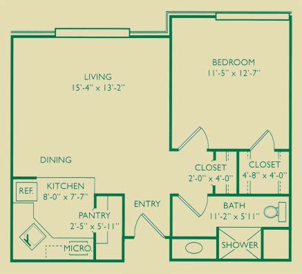 Delta One-Bedroom Deluxe Apartment